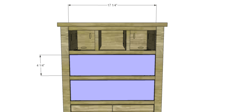 Plans to Build a Grandin Road Inspired Chloe Chest_Drawer Front 1