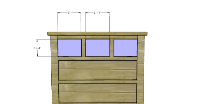 Plans to Build a Grandin Road Inspired Chloe Chest_Drawer Front 2