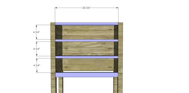Plans to Build a Grandin Road Inspired Eliza Chest_Stretchers
