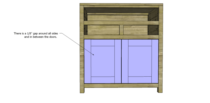 Free Plans to Build a Grandin Road Inspired Adele Wine Cabinet 16