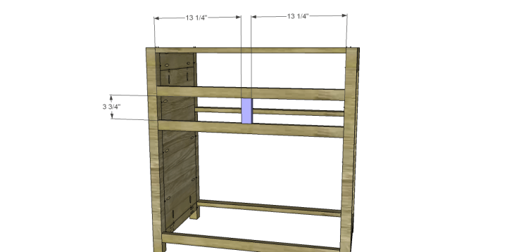 Free Plans to Build a Grandin Road Inspired Adele Wine Cabinet 7