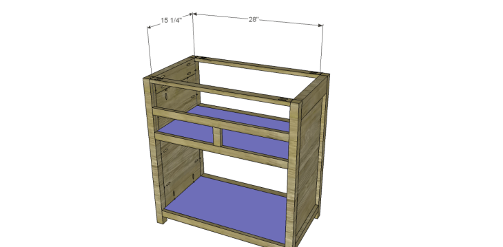 Free Plans to Build a Grandin Road Inspired Adele Wine Cabinet 8