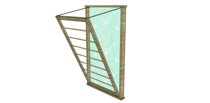 Free Plans to Build a Beadboard Drying Rack Med 2