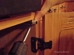 How to Install Dampers on Cabinet Doors 3