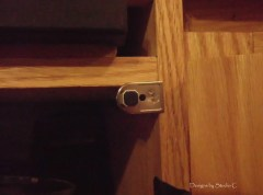 How to Install Dampers on Cabinet Doors 4