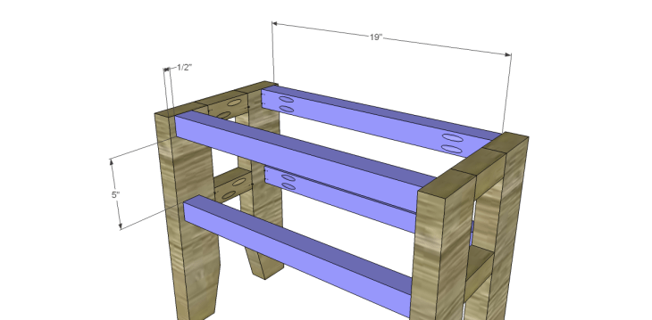 free plans build napa style inspired fair square benches_Stretchers