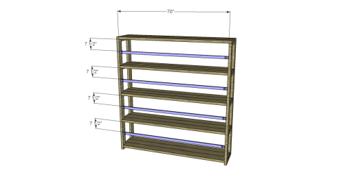 Bookcase_Back Stretchers