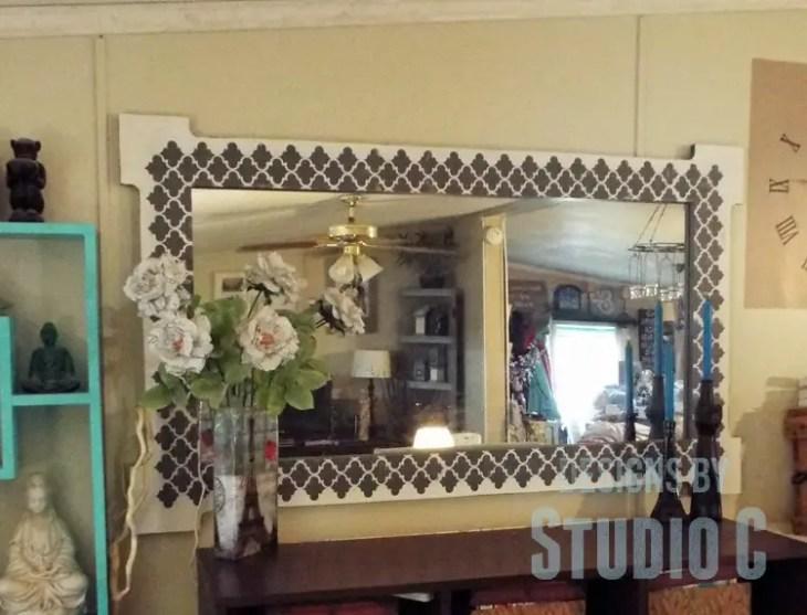 Free Plans to Build a Joss & Main Branford Mirror Frame DSCF1960