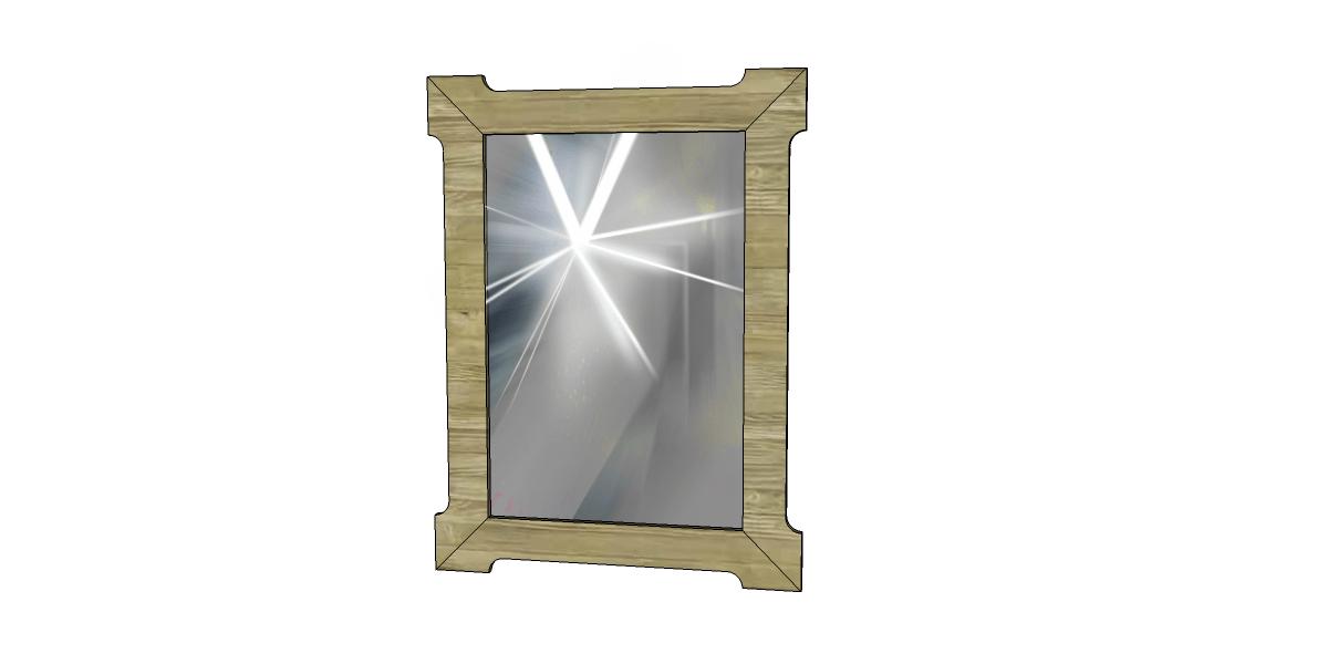 Build a Branford Mirror Frame  