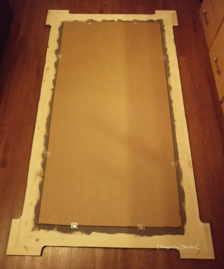 Free Plans to Build a Joss & Main Branford Mirror Frame SANY1678