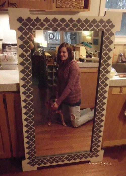Free Plans to Build a Joss & Main Branford Mirror Frame SANY1680