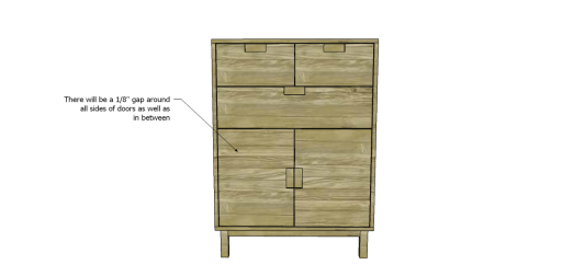 Free Plans to Build a CB2 Inspired Stash Chest_Doors 2