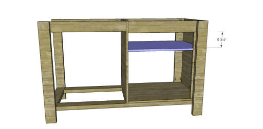 Free Plans to Build a New American Barnwood Kitchen Island_Drawer Divider 2