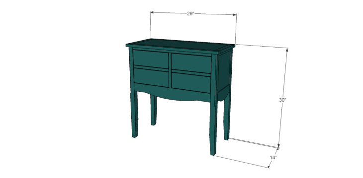 free plans to build a seventh ave inspired janikka table