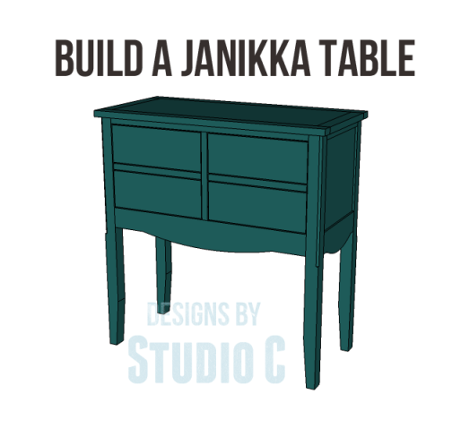 free plans to build a seventh ave inspired janikka table_Copy