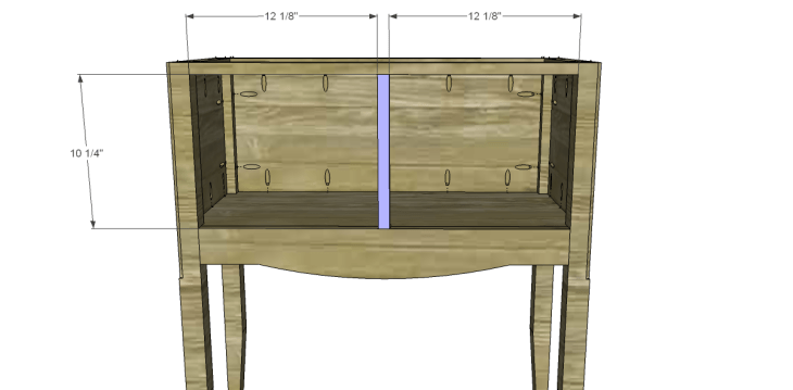 free plans to build a seventh ave inspired janikka table_Divider