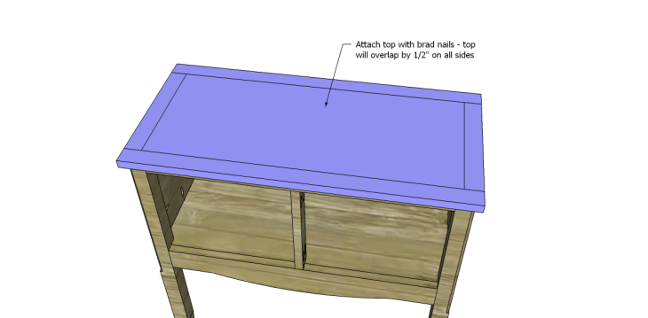 free plans to build a seventh ave inspired janikka table_Top 2