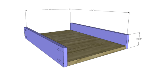Free Plans for a Joss & Main Inspired Lodge Coffee Table_Drawer BS