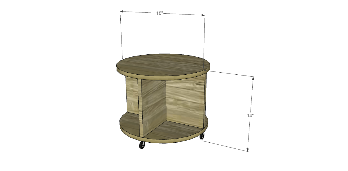 ... Build a Storage Ottoman on Casters. Click on the drawings for a larger  view! - Build A Storage Ottoman On Casters – Designs By Studio C