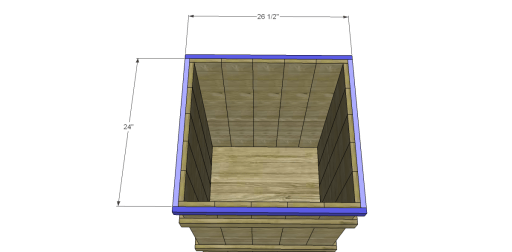 Free Plans to Build Robin's Planter Boxes_Lower Trim