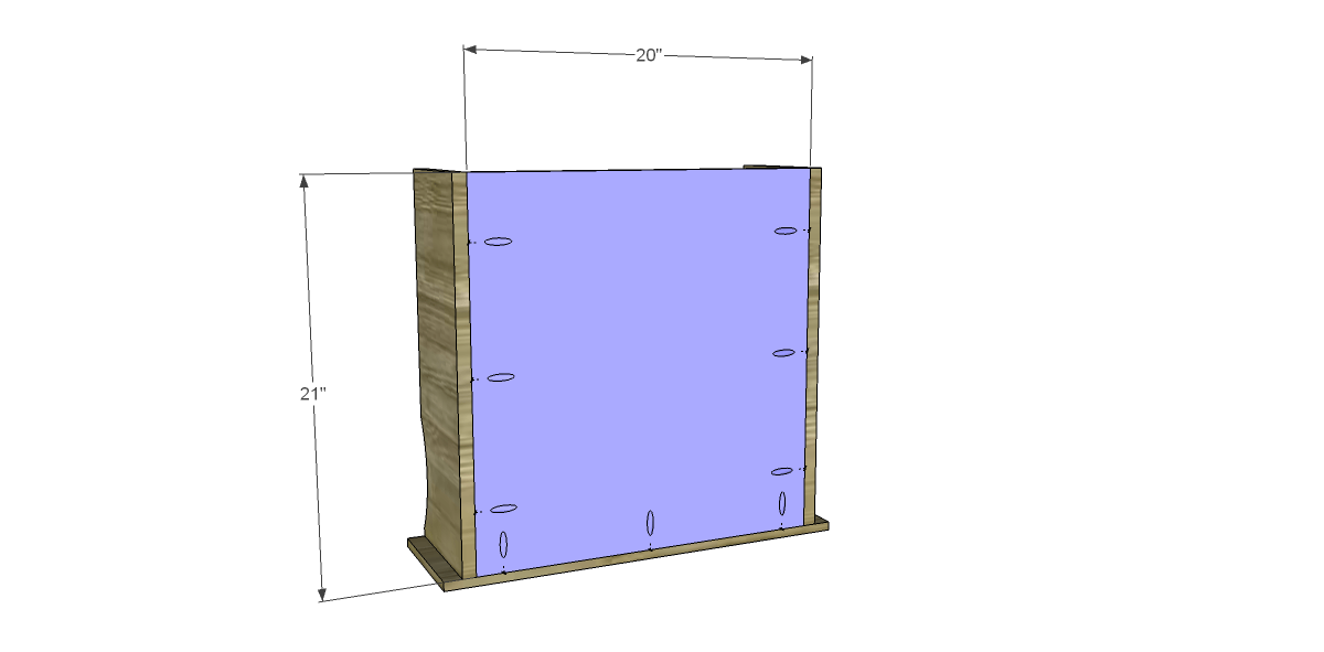 Free plans to build a joss main inspired edison cabinet for Building kitchen cabinets with pocket screws