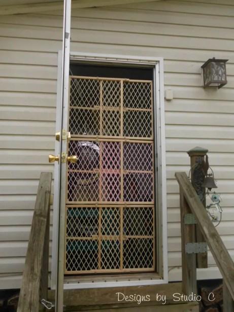how to build a screen door SANY2081