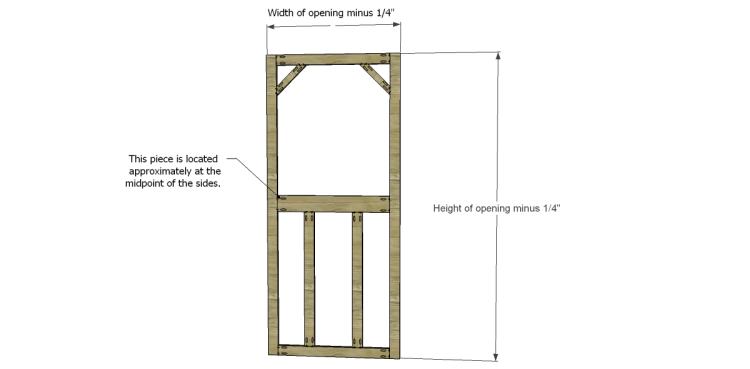 Niedlich How To Build A Screen Door Frame Fotos - Benutzerdefinierte ...