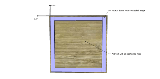 Free Plans to Build a Napa Style Inspired Fold Down Table_Frame 2
