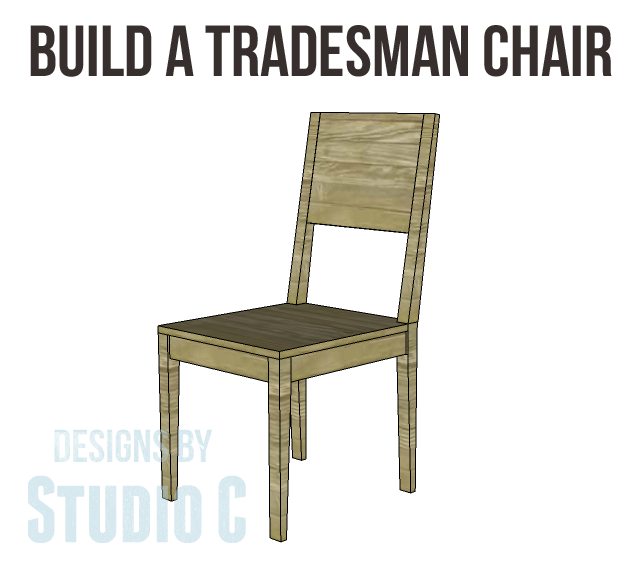 A Collection of DIY Plans to Build Dining Chairs_Tradesman