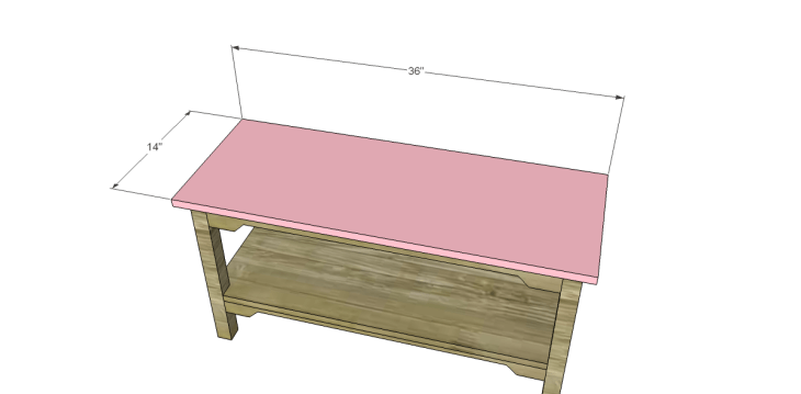 free plans to build an ll bean inspired large bench_Top