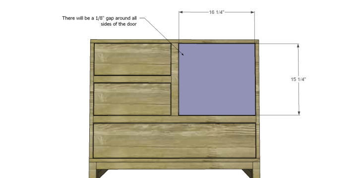 free plans to build a joss main inspired greene chest_Door