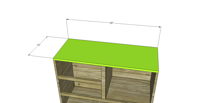 free plans to build a joss main inspired greene chest_Top