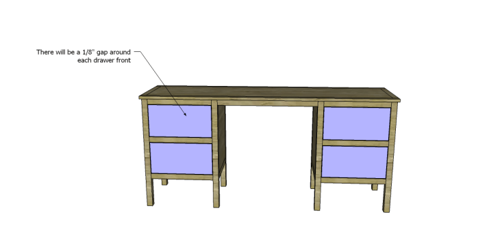 free plans to build a sereno desk_Drawers