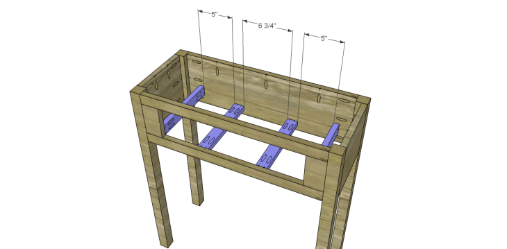 free plans to build a joss main inspired julius wine table_Drawer Supports