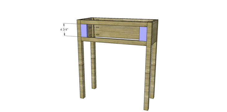 free plans to build a joss main inspired julius wine table_Fronts