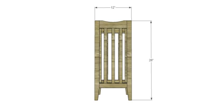 free plans to build a portland umbrella stand