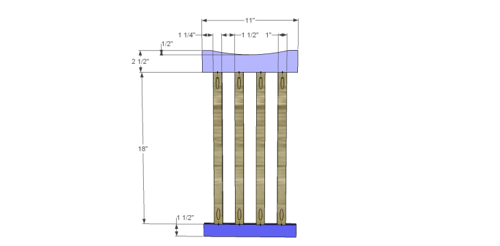 free plans to build a portland umbrella stand_Sides 1
