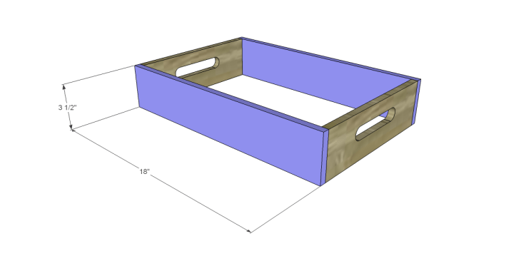 free DIY woodworking plans to build a saint-emilion tray_Sides