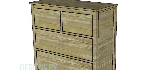 Build A Plain Dresser