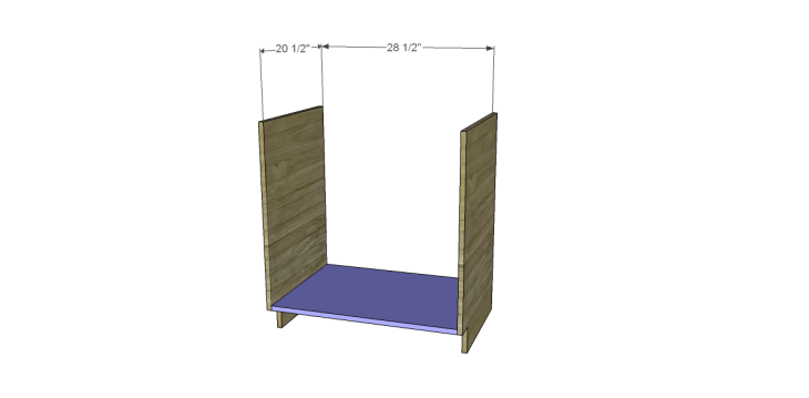 free DIY woodworking plans to build a custom bath vanity_Bottom