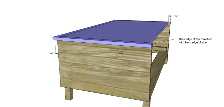 free DIY woodworking plans to build a large armoire_Bottom 3