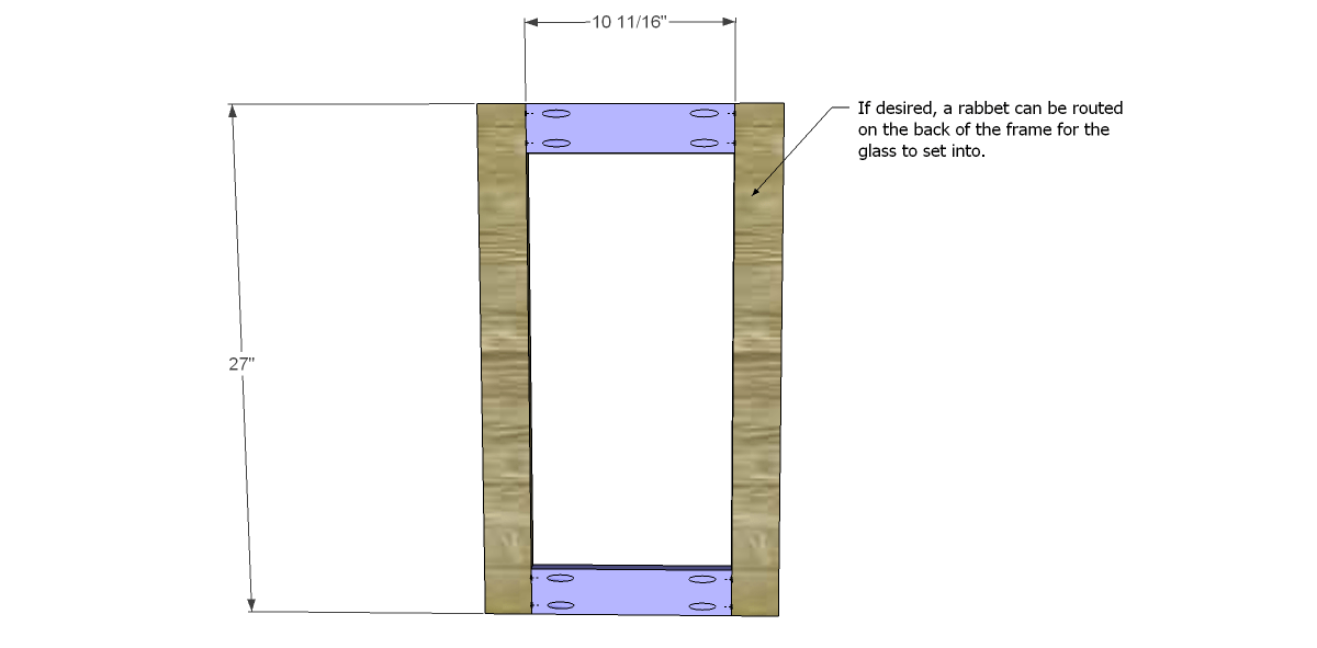 Build a glass door cabinet designs by studio c for Diy glass cabinet doors