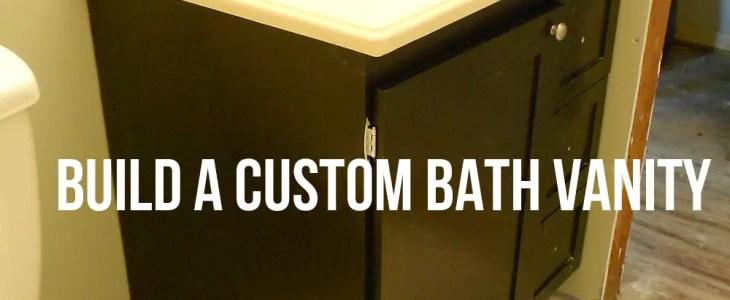 Build A Custom Bath Vanity Designs By Studio C