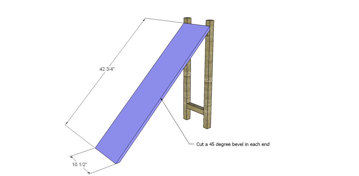 Build a ladder end table for Build ladder shelf plans