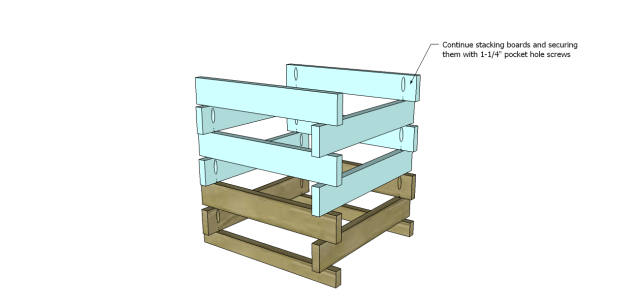 end table plans beginner_Sides
