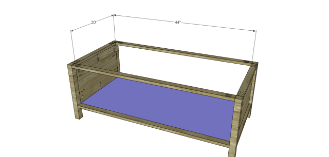 storage coffee table plans_Bottom