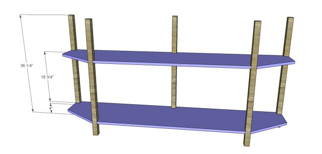 angled console table plans_Shelf & Bottom 2