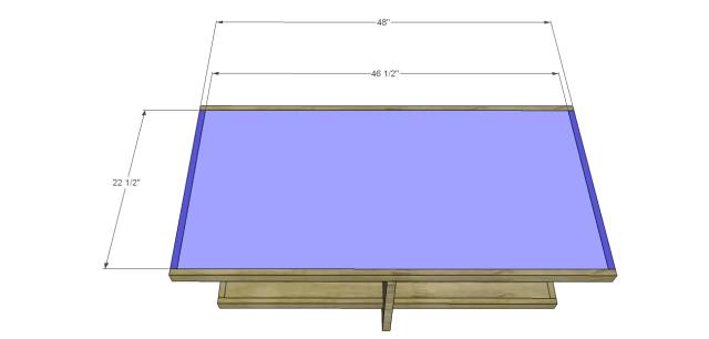 modern chunky coffee table_Top