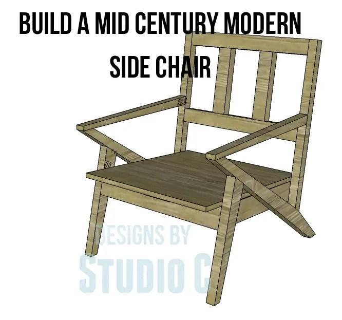 Mid Century Modern Design Chair Plans