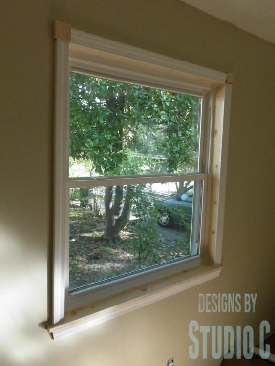 Adding Trim Around A New Window